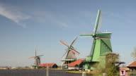 Traditional Dutch landscape video