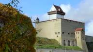 Traditional European castle. video