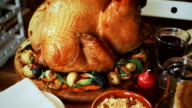 Traditional Holiday Stuffed Turkey Dinner video