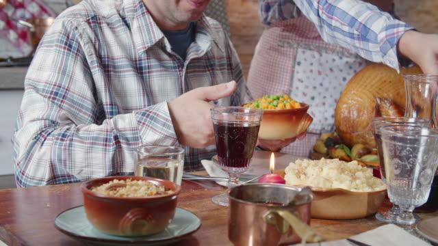 Traditional Holiday Stuffed Turkey Dinner video