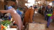 Traditional Moroccan Market video