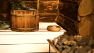 A traditional Russian Sauna,Bath video