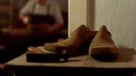 HD: Traditional Shoemaker Workshop video