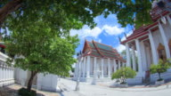 Traditional Thai architecture video