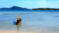 Traditional Thai Longtail Boat video