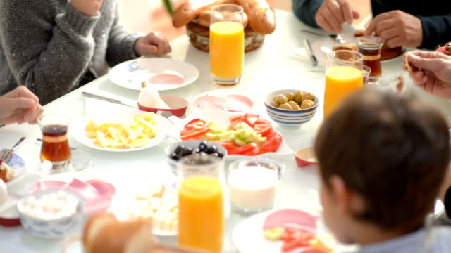 FILM MONTAGE: Traditional Turkish family breakfast best moments video