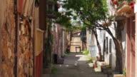 Traditional Turkish houses, travel destination, Ayvalik, Turkey video