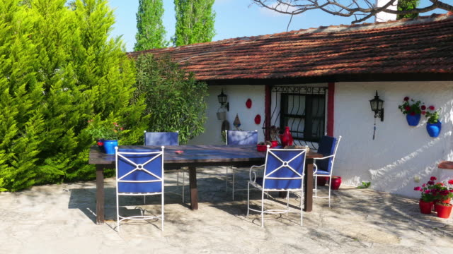 Traditional Turkish houses, travel destination, Kusadasi, Turkey video