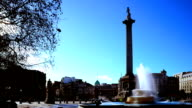 Trafalgar Square, London timelapse video