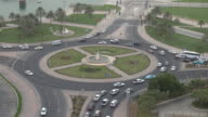 Traffic car by day in Doha, Qatar video