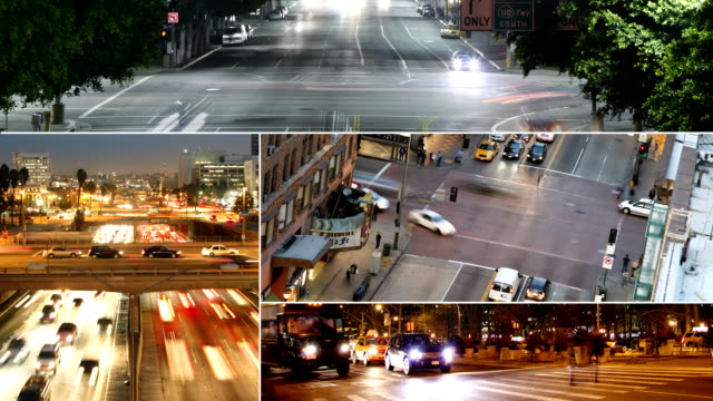 Traffic Collage video