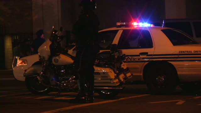 Traffic Cop. Police Motorcycle and Sheriff Land Vehicle. video