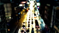 Traffic in Bangkok video