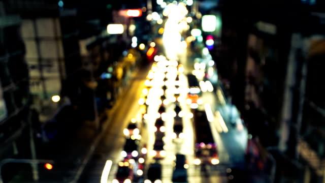 Traffic in Bangkok video