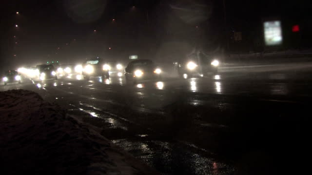 Traffic in Blizzard, Canted 3 video