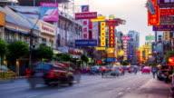 Traffic in China Town, Bangkok video