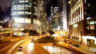 HD VDO : traffic in Hong Kong video
