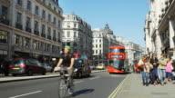 Traffic In London Regent Street (UHD) video