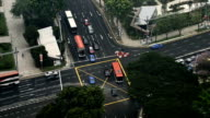traffic in Singapore city video