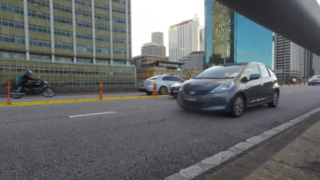 Traffic in Sydney Australia video