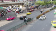 Traffic in Thailand Video video
