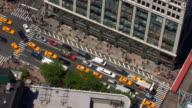 Traffic Jam and People Walking video