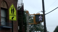 Traffic light and sign video