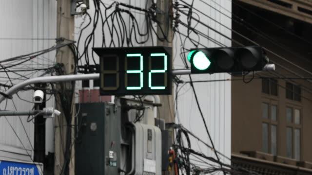 traffic light countdown video