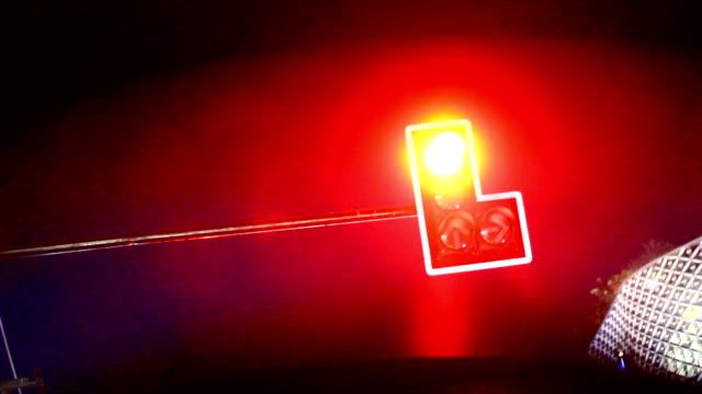 Traffic Light RED video