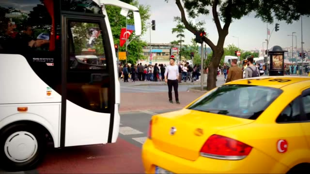 Traffic Lights Istanbul video