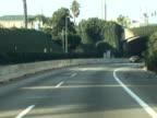 USA Traffic, Los Angeles, Tunnel to Malibu -Time Lapse- video