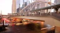 traffic on Bangkok thailand video