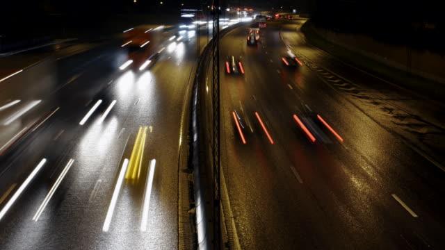 Traffic on Freeway video