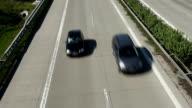 Traffic on German Highway, Real Time video