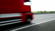 Traffic On Highway, Real Time video