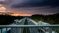 STEADY CAM : Traffic on Highway video