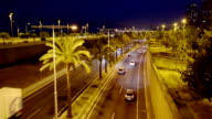Traffic on Metropolitan Road video