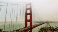 Traffic on the Golden Gate Bridge video