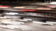 Traffic Streaks Time Lapse video