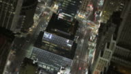 NYC Traffic Time Lapse Above Tilt Shift video