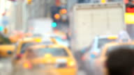 NYC Traffic Time Lapse Zoom video