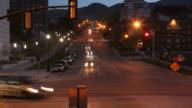 SLC Traffic Time-Lapse HD video