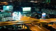 Traffic Timelapse Junction video