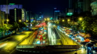 Traffic Time-Lapse video