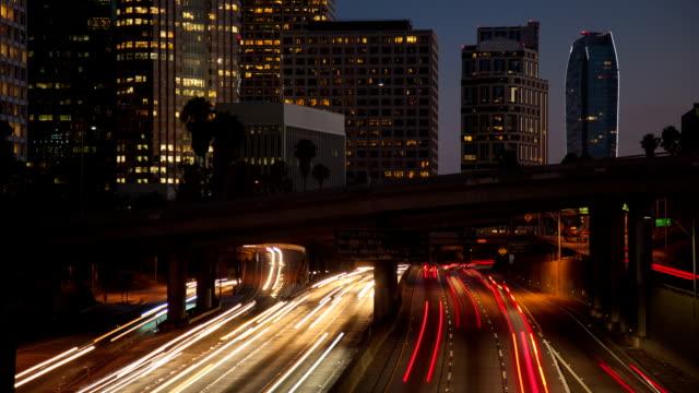 TIME LAPSE: LA Traffic video