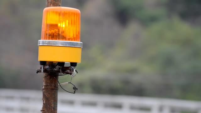 Traffic Warning Light video