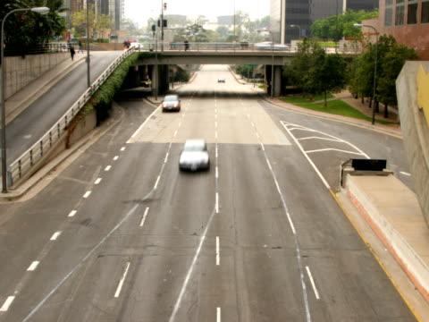 LA Traffic_A Time-Lapse NTSC video
