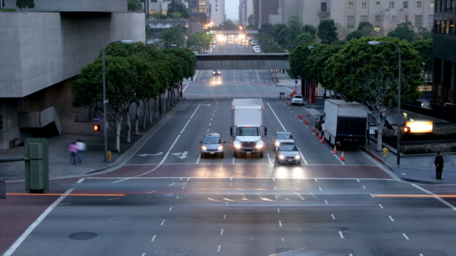 LA Traffic_C Time-Lapse HD video