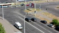 traffics time lapse video