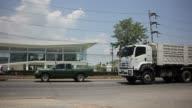 Trailer dump truck video